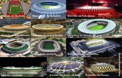 Estadios Copa 2014