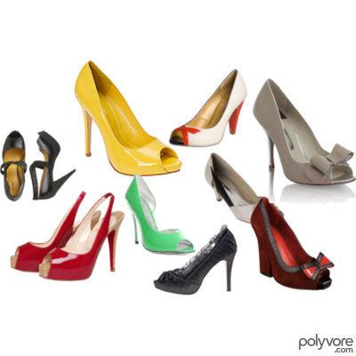Sapatos Peep-toe