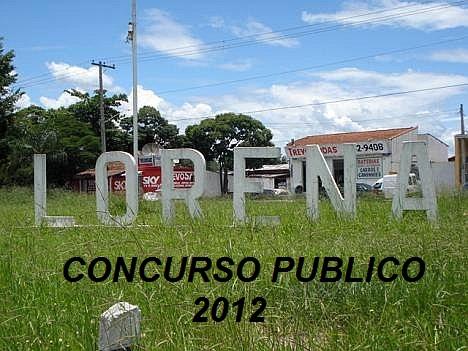 Concurso Publico de Lorena 2012