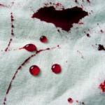 Sangue na roupa