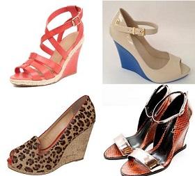 Sapatos Salto Anabela