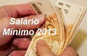 Reajuste Salarial 2013
