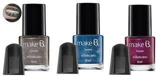 Esmalte Magnético - Coleção Black Crystal da Make B.