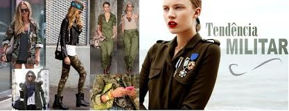 Tendência da Moda para Inverno 2013 - Estilo  Militar