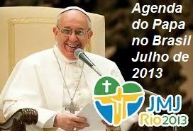 Agenda do Papa Francisco no Brasil