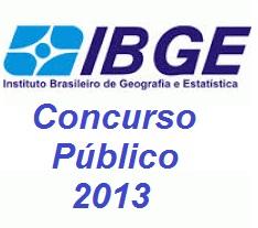 Concurso Publico IBGE 2013