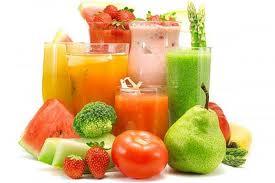 Alimentos na Dieta Detox