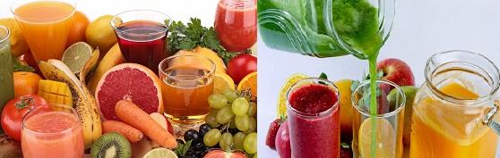 Benefícios dos Sucos Detox